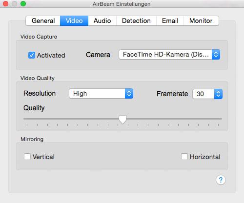 Video preferences